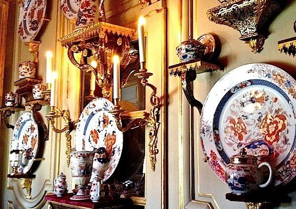porcelain room at champ de bataille